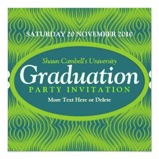 Invitation d'obtention du diplôme de vibration de