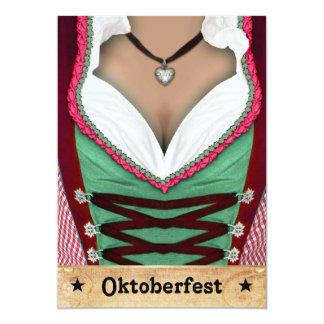 Invitation d'Oktoberfest