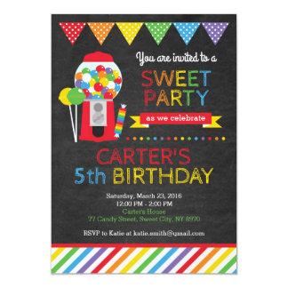Invitation douce d'anniversaire de magasin