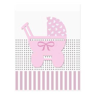 Invitation douce de douche de bébé carte postale