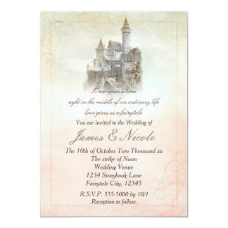 Invitation du bonbon 16 à château de livre de