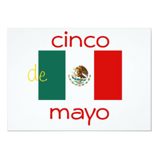 invitation du cinco De Mayo