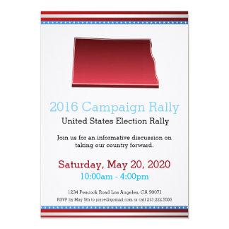 Invitation du Dakota du Nord de rassemblement de