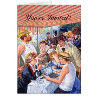 Invitation du déjeuner 2,0/de Renoir
