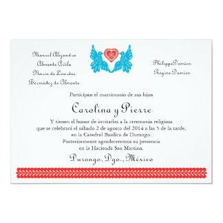 Invitation du mariage de Rôle Piqué des oiseaux