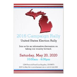 Invitation du Michigan de rassemblement de 2016