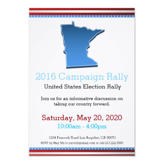 Invitation du Minnesota de rassemblement de 2016