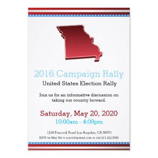 Invitation du Missouri de rassemblement de 2016