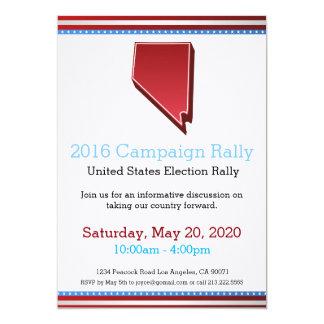 Invitation du Nevada de rassemblement de 2016