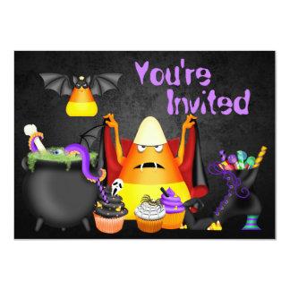 Invitation éffrayant d'anniversaire de Halloween