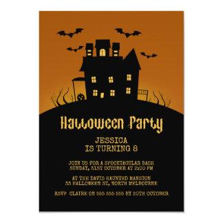 Invitation éffrayante d'anniversaire de Halloween