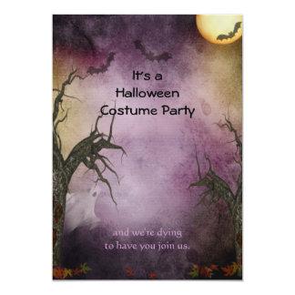 Invitation éffrayante de partie de Halloween