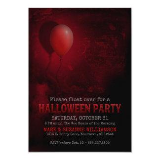 Invitation effrayante de partie de Halloween de