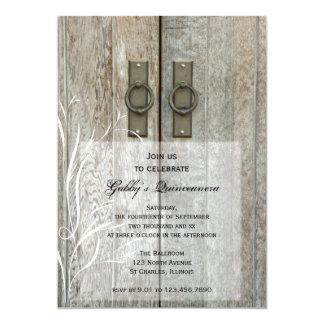 Invitation élégante de partie de Quinceañera de