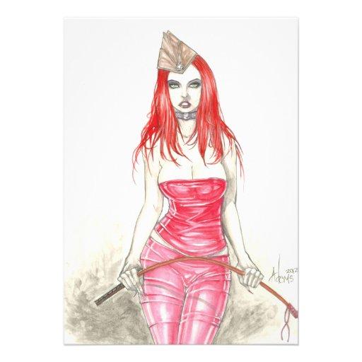 Invitation en hausse rouge de Phoenix