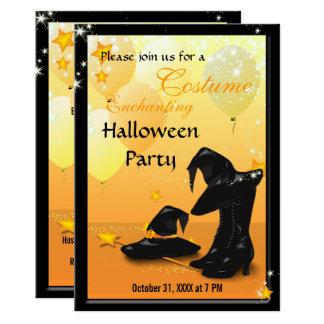 Invitation enchanteresse 2 de sorcière de