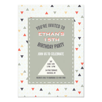 Invitation espiègle de triangles