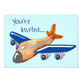 Invitation extraordinaire d'avion