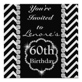 Invitation FAITE SUR COMMANDE d anniversaire de CH