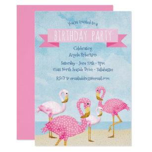 Invitations Faire Part Flamant Rose Zazzle Fr