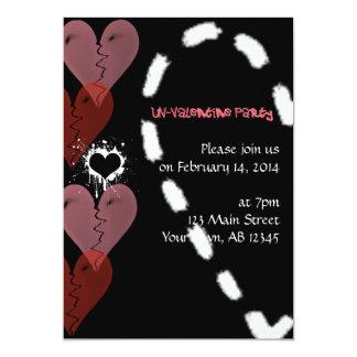 Invitation grunge d'ONU-Valentine