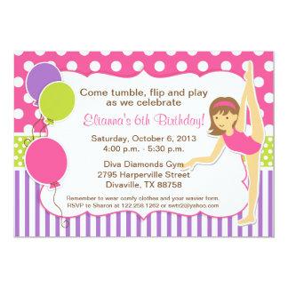 Gymnastics Birthday Party Invitations as perfect invitation layout