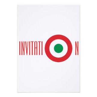 Invitation italienne