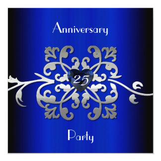 Invitation l'épousant de la fête d'anniversaire 25