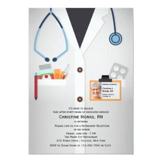 Invitation médicale de retraite de photo de