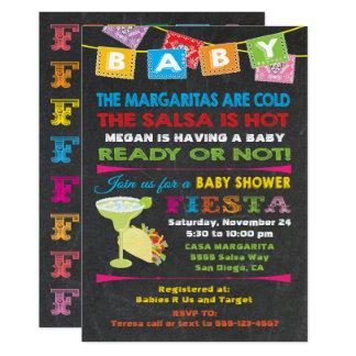 Invitation mexicaine de baby shower de fiesta