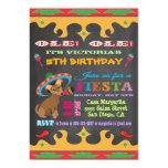 Invitation mexicaine de fête d'anniversaire de