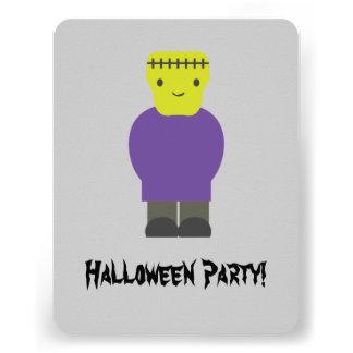 Invitation mignonne de partie de Frankenstein