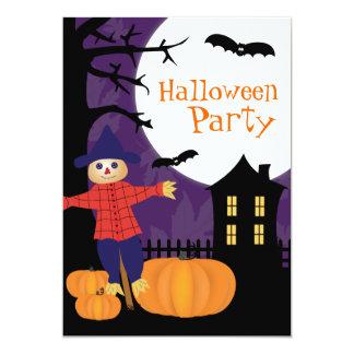Invitation mignonne de partie de Halloween