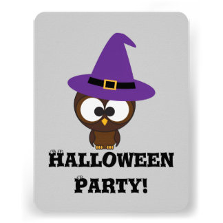 Invitation mignonne de partie de Halloween de