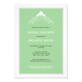 Invitation nuptiale 3991 de douche de voûte