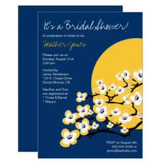 Invitation nuptiale de douche de fleurs de