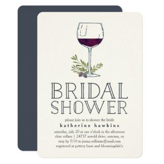 Invitation nuptiale de douche d'échantillon
