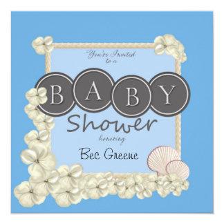 Invitation océanique de douche de bébé