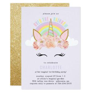 Invitation Anniversaire Licorne A Imprimer Gratuit