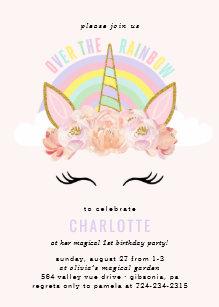 invitations avec licornes zazzle fr