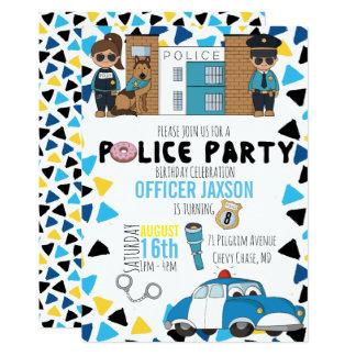 Invitation orientée de partie de police