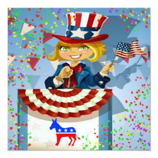 Invitation patriotique de Démocrate - srf
