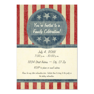 Invitation patriotique
