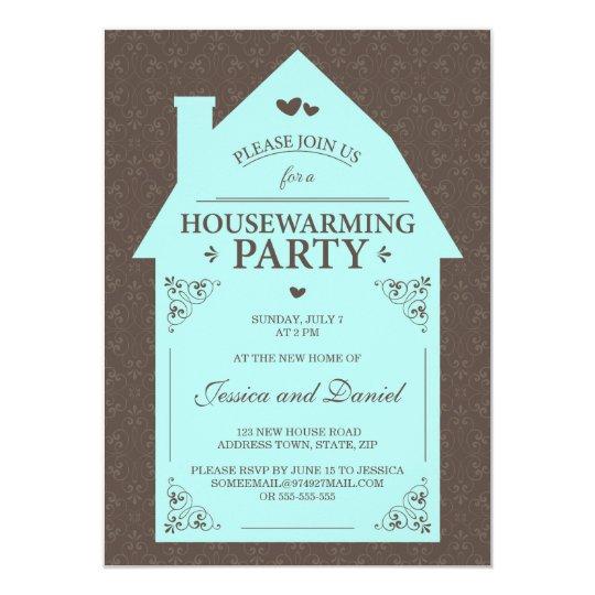 invitation pendaison de cr maill re bleue de maison d 39 aqua. Black Bedroom Furniture Sets. Home Design Ideas