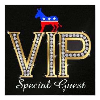 Invitation politique patriotique de Démocrate -