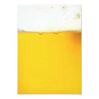 Invitation potable de partie de bière