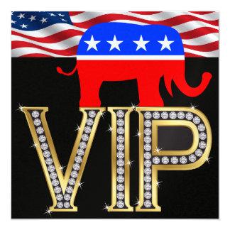 Invitation républicaine politique patriotique -
