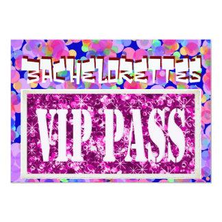 Invitation rose de partie des ballons VIP de