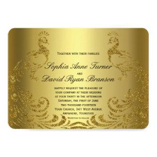 Invitation royal de mariage de paon d'abrégé sur