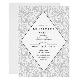 Invitation simple de partie de retraite de